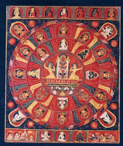 Mandala of the Sun God