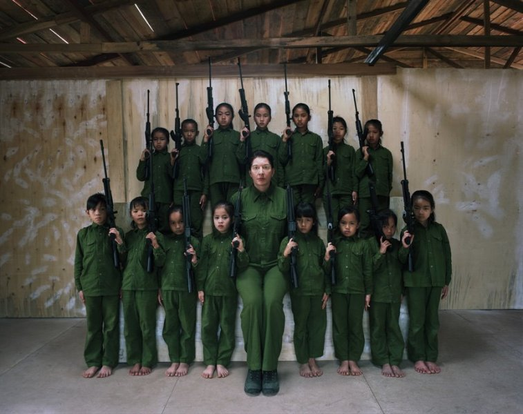 Marina Abramovic the family I