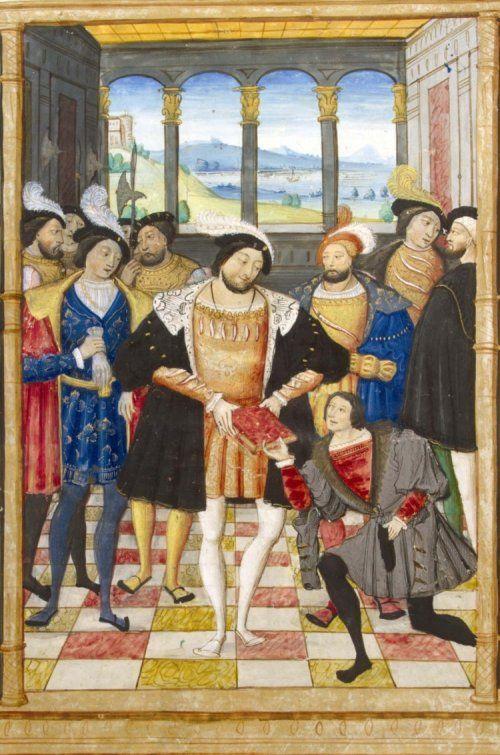 Romance of the Rose Manuscript