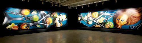 Farid Rasoulv - Untitled, 2011 - Trittico