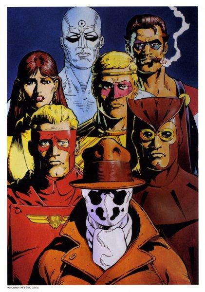Watchmen GroupShot