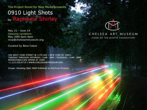 Raphaele Shirley at Chelsea Art Museum