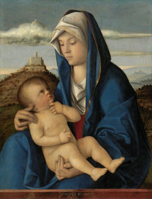 Giovanni Bellini - Madonna and Child