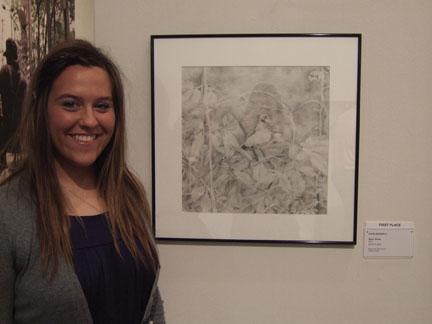Katie Birdwell - Art Museum of Southeast Texas' Protégé 2010 first place winner
