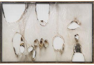 Alberto Burri, Grande bianco plastica (Large White Plastic), 1964