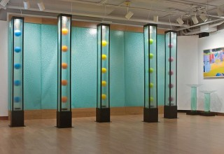 Alison Sigethy, Levitation Towers at the Torpedo Factory Art Center
