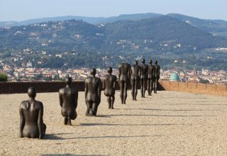 Antony Gormley at Forte Belvedere Florence