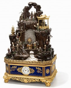 Auction Record -  Chinese Clock