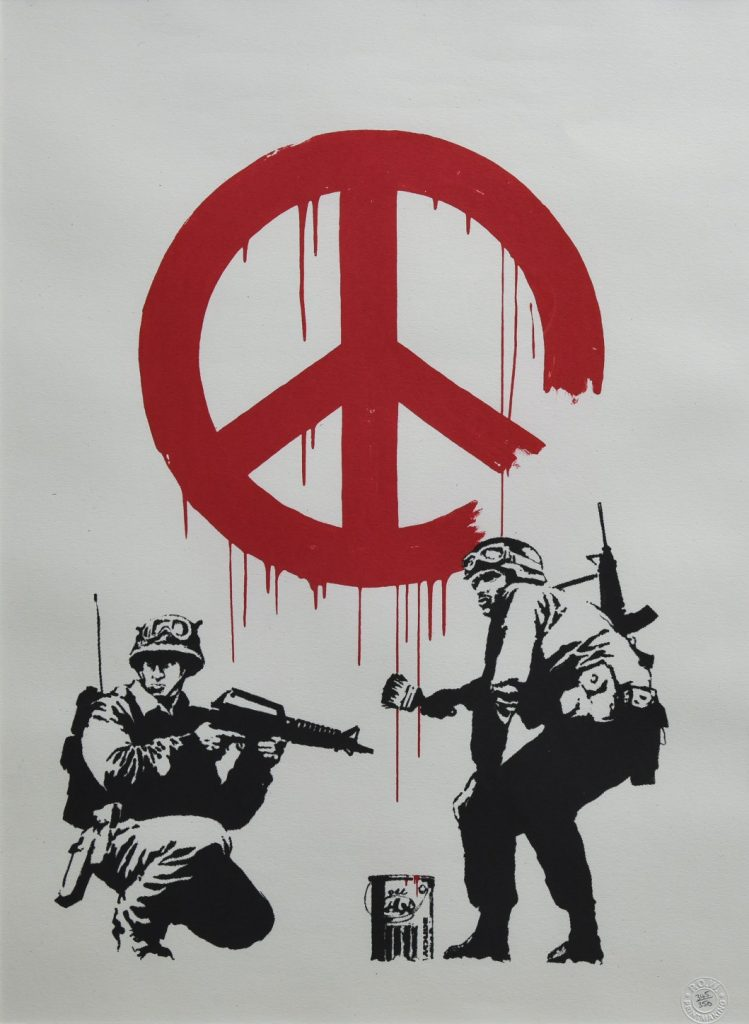 Banksy, CND Soldiers, 2005