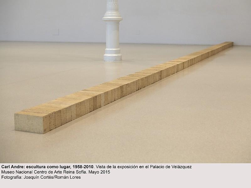 Carl Andre, escultura como lugar