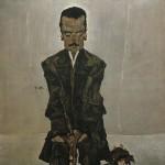 Egon Schiele, Portrait Eduard Kosmack, 1910