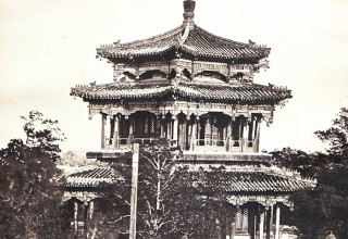 Felice Beato, The Great Imperial Palace Yuen Ming Yuen