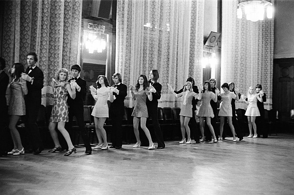 From the series Dancing Lessons, Prague, 1975, Iren Stehli ProLitteris