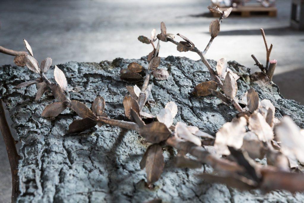 Giuseppe Penone, Leaves of Bronze / foglie di bronzo