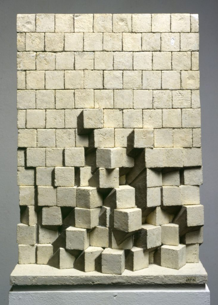 Giuseppe Uncini, Grande muro con ombra, 1970