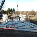 Glass-Walled Labyrinth to be Installed in the Donald J. Hall Sculpture Park 2014-03-12 08.27.48 Kalie Hudson