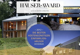 HÄUSER AWARD site