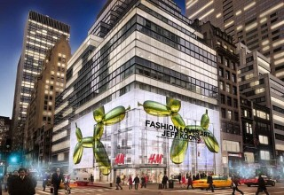 H&M Partners with The Whitney Museum of American Art and Artist Jeff Koons to Celebrate Opening of New Fifth Avenue Flagship Store