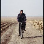 Hai Bo, The Northern A Man is Riding His Bicycle no. 4, 2005