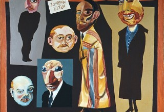 Hannah Höch, The Journalists, 1925