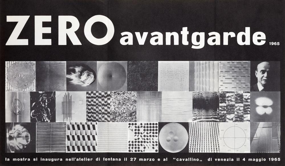 Hans Bischoffshausen ZERO avantgarde 1965