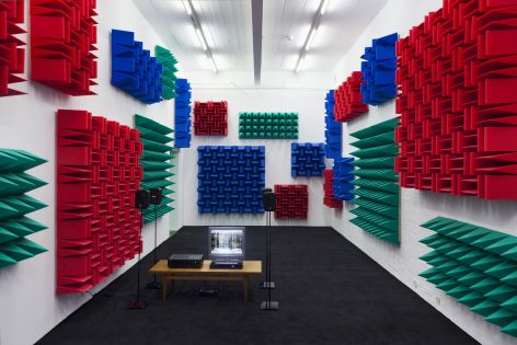 Haroon Mirza , Digital Switchover, 2012
