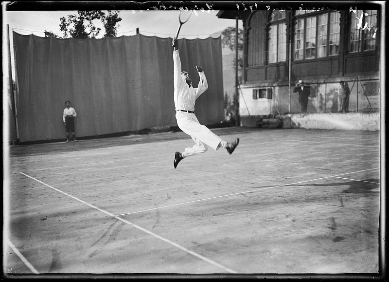 Jules Decrauzat, Tennis Tournament, Caux, Canton Waadt, 1921