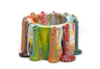 glaze flow cylinder