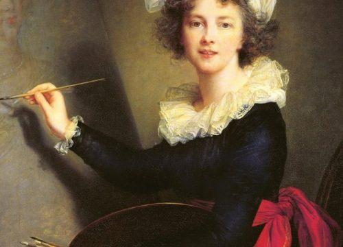 Élisabeth Vigée-Le Brun, Autoritratto, Firenze 1790 - Wikipedia