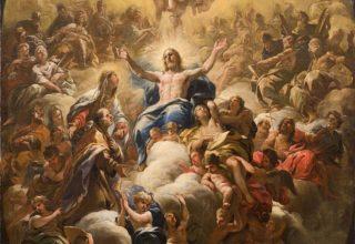 Luca Giordano, Glory of Sant'Andrea Corsini 1682