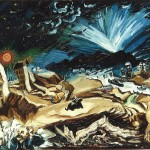 Ludwig Meidner, Apocalyptic Landscape, 1913