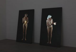 Bill Viola, Man Searching for Immortality/Woman Searching for Eternity, 2013