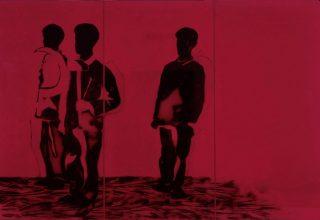 Mario Schifano, Compagni compagni, 1968