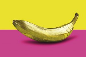 Monica Silva, Banana Golden Pop Art