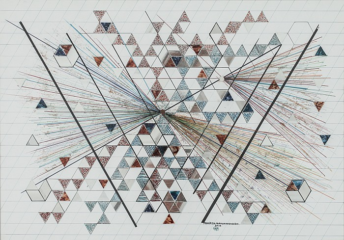 Monir Shahroudy Farmanfarmaian, untitled 2012