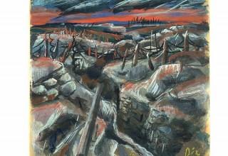 Otto Dix, Trenches, around 1917