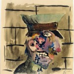 Otto Dix, Wounded Soldier, 1922
