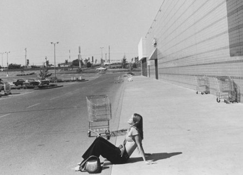 Paul McDonough Woman Sunbathing Portland Oregon 1973 photograph Courtesy of Sasha Wolf Gallery
