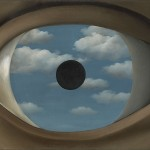 René Magritte, The False Mirror (Le Faux Miroir), 1928