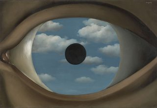 René Magritte, The False Mirror (Le Faux Miroir), 1928