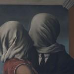 René Magritte, The Lovers (Les Amants), 1928