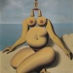 René Magritte, The White Race (La Race blanche), 1937