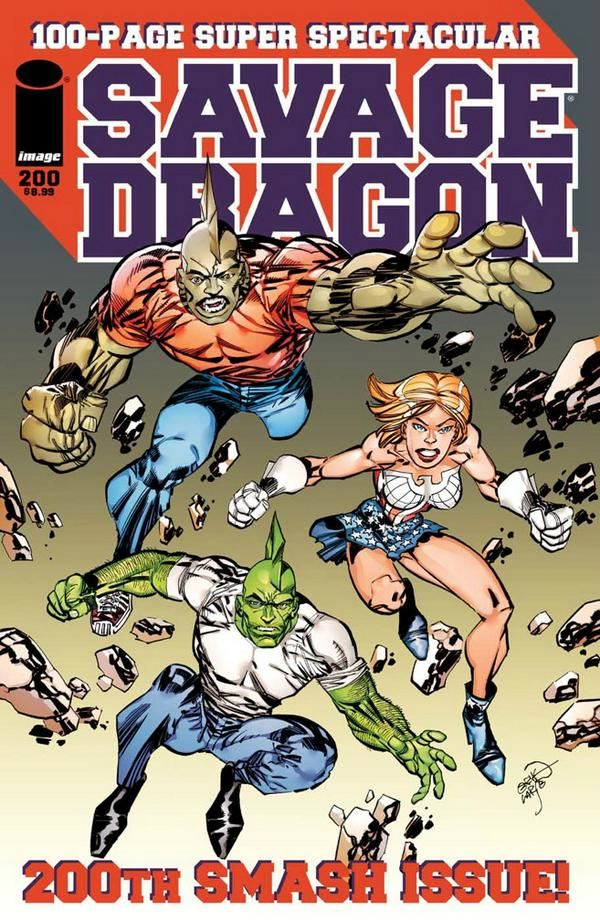 SAVAGE DRAGON The Art of Erik Larsen
