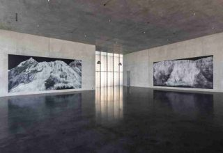 Tacita Dean Installation view, ground floor, Kunsthaus Bregenz  Photo: Markus Tretter