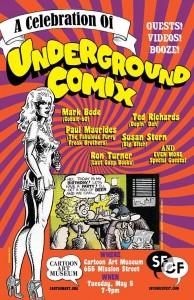 Underground Comix SF Comics Fest