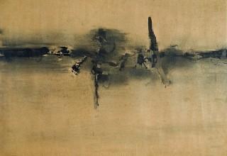 Vasudeo Santu Gaitonde, Untitled, 1962