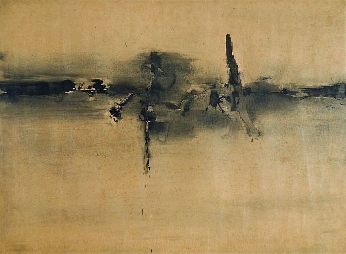 Vasudeo Santu Gaitonde, Untitled, 1962