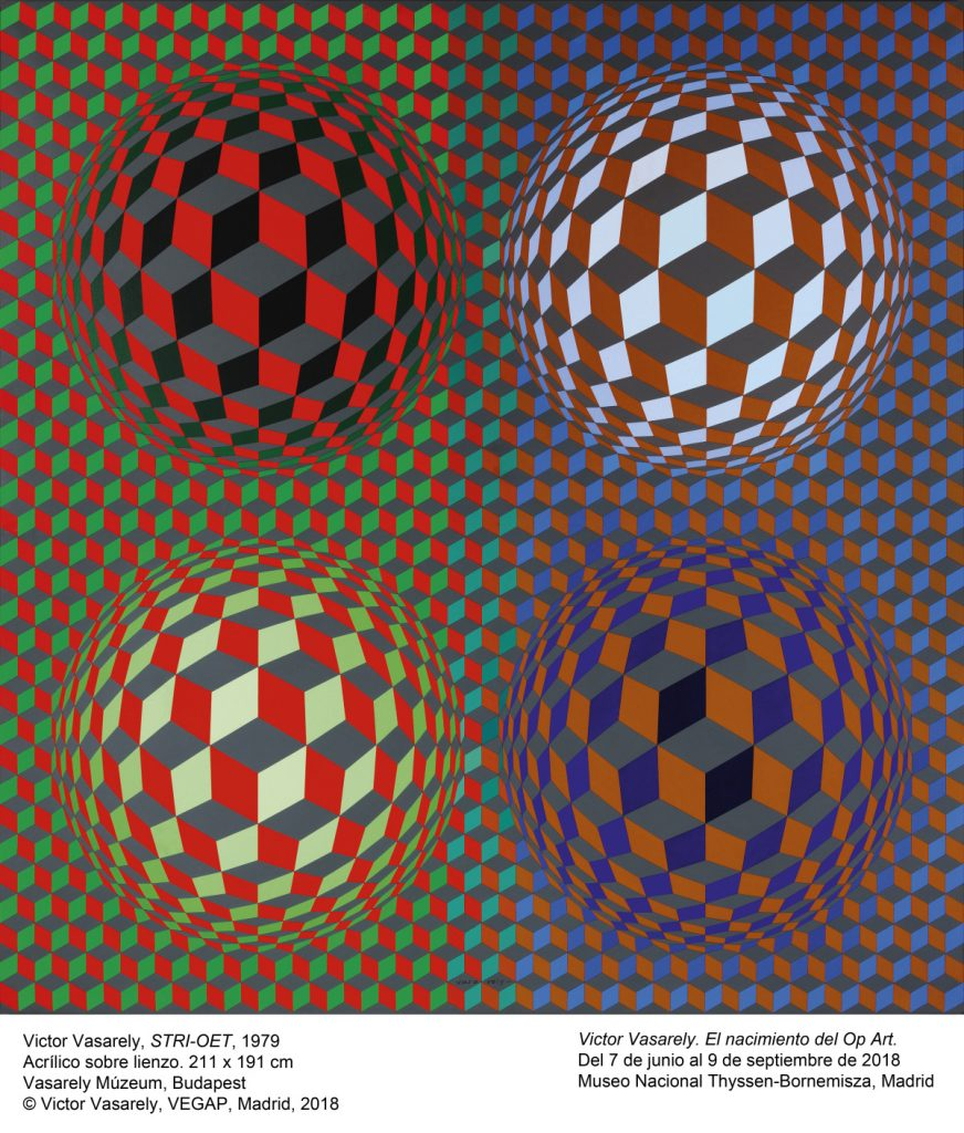 Victor Vasarely STRI OET, 1979