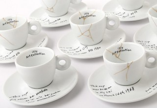 Yoko Ono Mended Cups illy Art Collection
