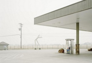 #YoungsukSuh Gas Station - Courtesy #ElizabethClementFineArt NY